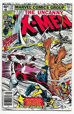 Uncanny X-Men #121 (1979) 2nd Alpha Flight! Byrne Art! VG or Better! NR!!