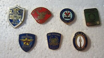 Assorted Police and Military Pins