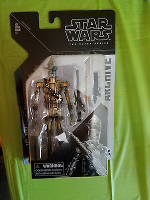 """Star Wars The Black Series 6"""" Archive Collection IG-88 Action Figures -Read Auct"""