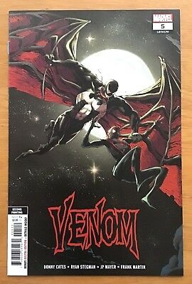 Venom 5 2018 Cover C Variant  2nd Printing Ryan Stegman Cover Marvel  NM