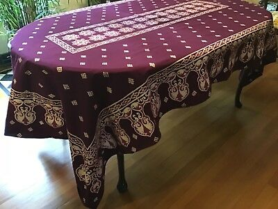 Indonesian Batik Tablecloth set