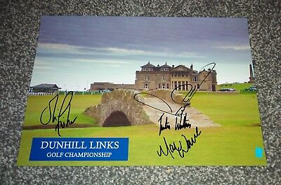 Alfred Dunhill Links Championship  2018  Signed Photo
