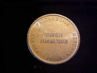 Pueblo Co Parking Token 3760 B 21 Mm Alu # E-1-Z