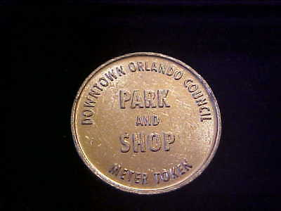 Orlando Fl Parking Token 3630 B 21 Mm Alu # E-1-Z