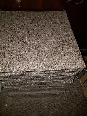 110 Carpet Tiles Used In Good Condition 50 Cm By 50 Cm Brown Fleck In Colour