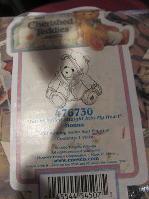 Cherished Teddies ~ Donna - You've Sailed Straight Into My Heart (476730)