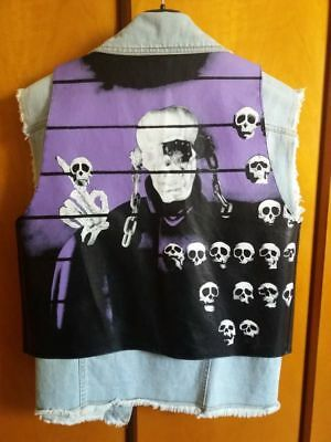 MEGADETH raro gilet smanicato vintage Made in Italy 1992 Countdown to Extinction