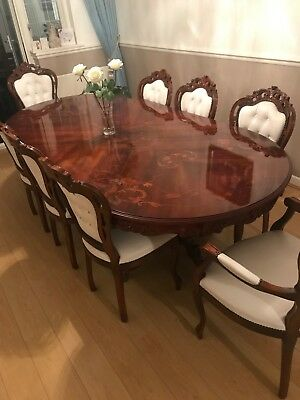 Italian Reproduction 8 Seater Dining Table
