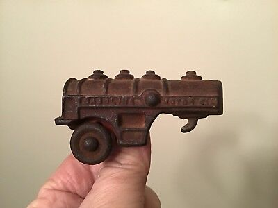 Vintage Cast Iron Toy Arcade Gasoline Oil Tanker Early 20's 30's ?