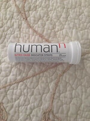HumanN - Nitric Oxide Test Strips 25 Strips 1 Tube of 25 Strips 1 Pack