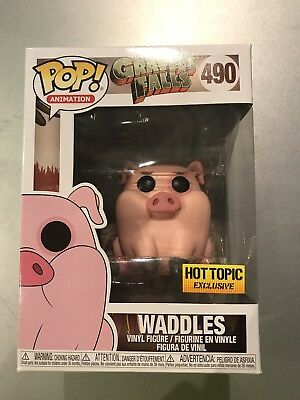 Funko Pop! Disney Gravity Falls Waddles The Pig Hot Topic Exclusive In Protector