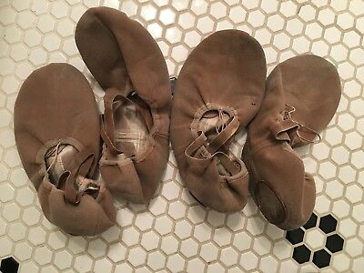 Used Completely Worn Angelo Luzio Ballet Shoes - 9 1/2M
