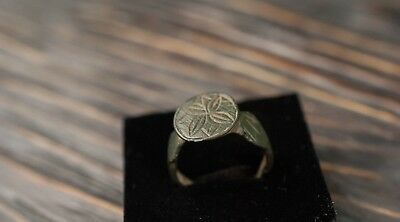 Antique Medieval Bronze Ring c. 14th-16th Century Ancient Jewelry Vintage Gift