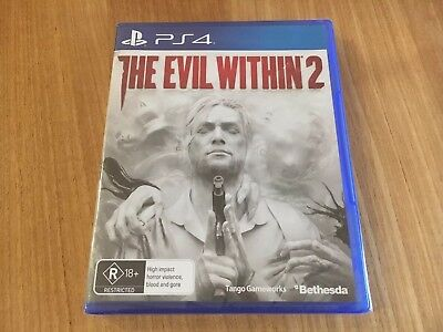 The Evil Within 2 PS4 Playstation 4 Game Brand New Sealed!!