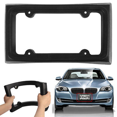 Bumper Guard License Plate Frame Holder for Front Mount Bracket Car Protector .