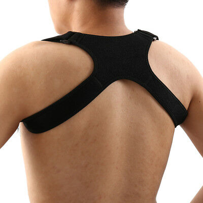 Posture Corrector Shoulder Back Brace for Slouching Clavicle Support Pads Unisex