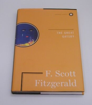 The Great Gatsby F. Scott Fitzgerald HARDCOVER HARDBACK BOOK Scribner Classics