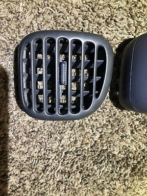 q Oem 98-01  DODGE RAM TRUCK DASH HEATER VENT PASSENGER SIDE DARK GRAY