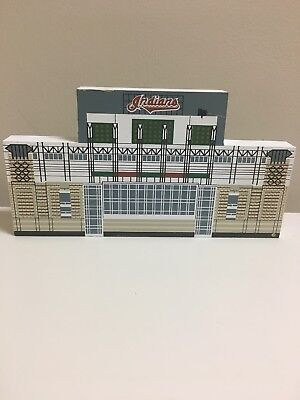 Cleveland Indians  -  Jacobs Field Cats Meow Shelf Sitter - Faline 1994