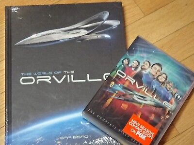 The Orville The Complete First Season Dvd Set Plus The World Of The Oeville Book