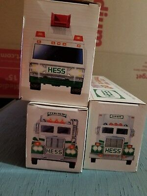 Hess Toys Trucks Lot . NIB
