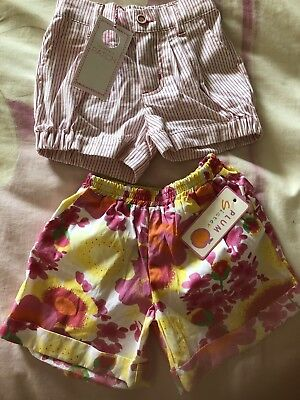 Girls Shorts Bundle X4. Size 3. New With Tags