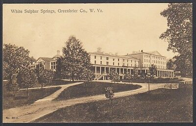 White Sulphur Springs, West Virginia 4th of July 1906 Greenbrier to Nokesville,