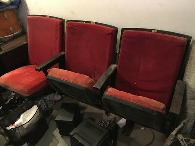 Theater Seats from Carnagie Hall