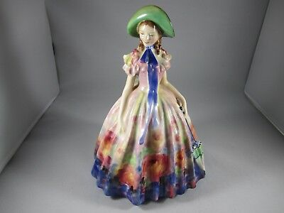 """ROYAL DOULTON ' Easter Day ' 7 1/2"""" Tall Figurine #HN 2039 - 1945 - SUPER COLORS"""
