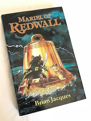 Brian Jacques ~ Mariel of Redwall ~ 1st UK Edition Hardcover in Jacket
