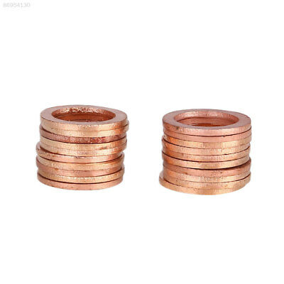 31B3 New Washers Sump Plug Gasket Professional Solid Copper 20Pcs