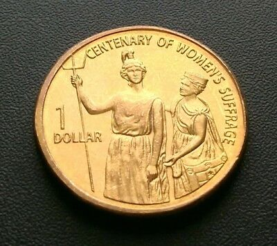2003 $1 Dollar Coin Women's Suffrage Specimen Coin Fantastic Example.