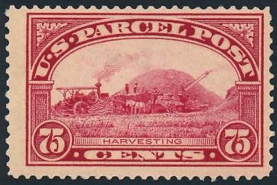US Q11 75¢ 1913 Parcel Post Issue Harvesting Fine NH
