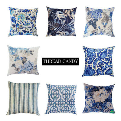 *NEW* Luxury Hamptons Style Blue cushion covers