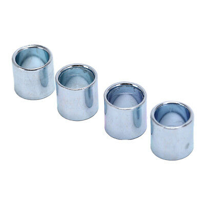 4pcs Sliver Axis Sleeve Speed Kit Bearing Spacer Inline Skate Axle WH