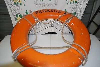 collectible life buoy ring off the Pegasus II