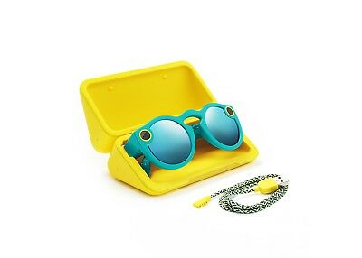Snapchat Spectacles - Teal - New, Sealed