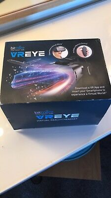 3d virtual reality headset With Remote Controller By Bit more New In Box