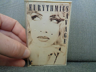 EURYTHMICS_Savage_used RARE cassette_ships from AUS!_Y4