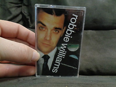 ROBBIE WILLIAMS_I've Been Expecting You_used RARE cassette_ships from AUS!_N