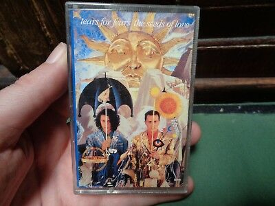 TEARS FOR FEARS_The Seeds Of Love_used cassette_ships from AUS!_zz119_s1