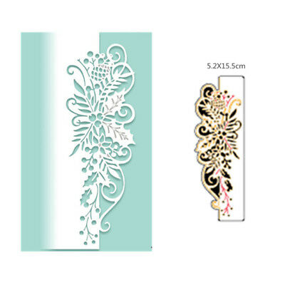 Cutting Die Style Lace Halloween Embossing Stencils  scrapbooking 5.2X15.5 cm