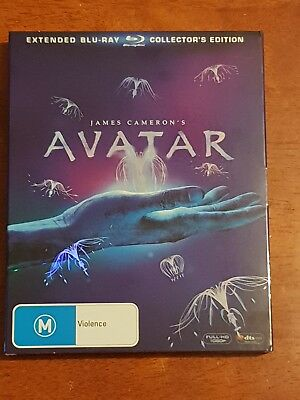 Avatar | James Cameron | Extended Blu Ray | Collectors Edition | 3 X Discs