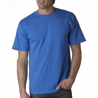 Fruit Of The Loom mens t shirt tee top S-XXL heavyweight  cotton crew plain