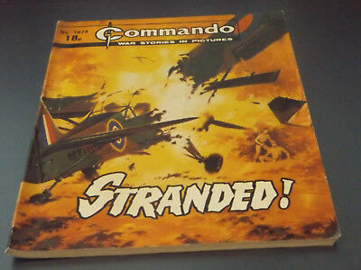 Commando War Comic Number 1674!,1983 Issue,v Good For Age,36 Years Old,very Rare