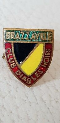 Anstecknadeln CLUB DIABLES NOIRS -  BRAZZAVILLE BADGES/ INSIGNE
