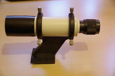 TAL 6x30 Finderscope for Telescope (2 Hole Fitting) with adjustment bracket NR