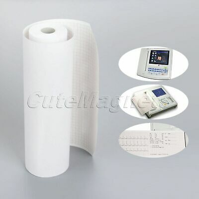 1 Roll Medical Lab Hospital 215mm*30m Print Paper Patient Monitor ECG 12-channel