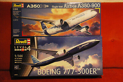Revell Airbus A350-900   Boing 777-300
