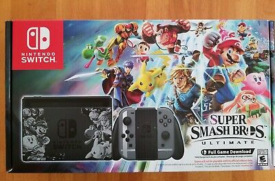 Nintendo Switch Super Smash Bros. Ultimate Edition Console Bundle *BRAND NEW*